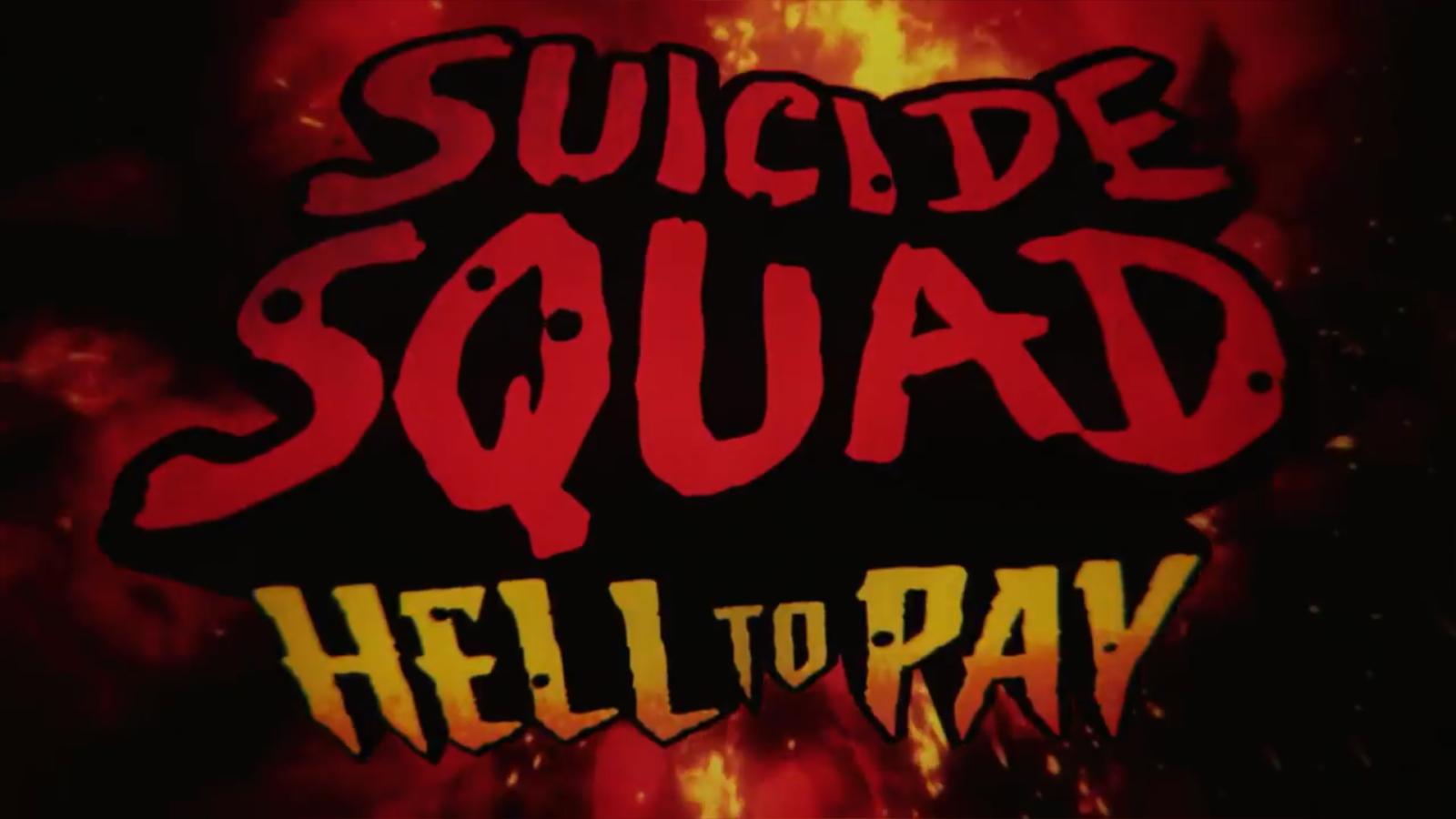 动画电影《Suicide Squad: Hell To Pay》公布预告