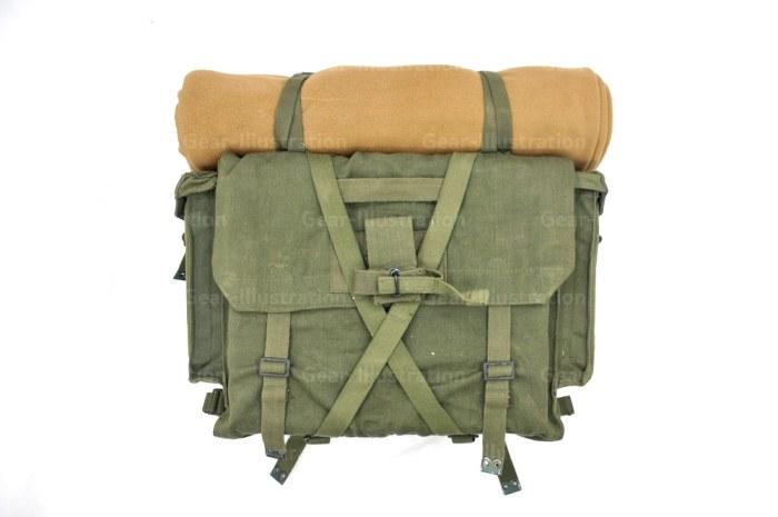 1985年产的英军P58装具背包实物