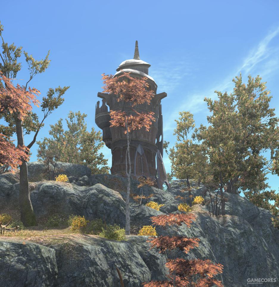 位于私语巨木的艾塔塔哨所,用于监视鸟人族动向
