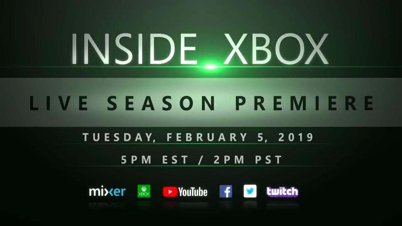 新的一年 Xbox 会带来什么好东西?Inside Xbox 第二季将在2月6日回归