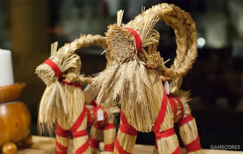 圣诞节的装饰物Yule Goats