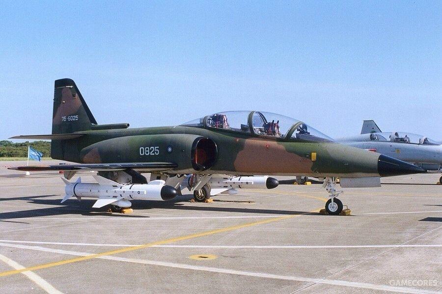 挂载雄风II型反舰导弹