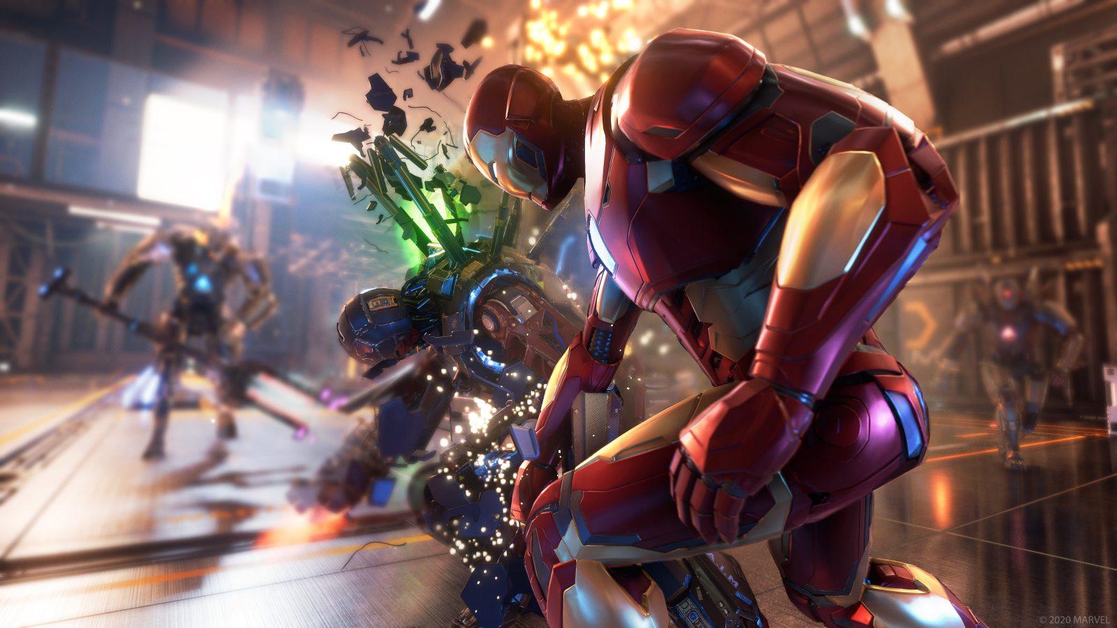 《漫威复仇者联盟》将登陆PS5/XSX,购买本世代版本可免费升级