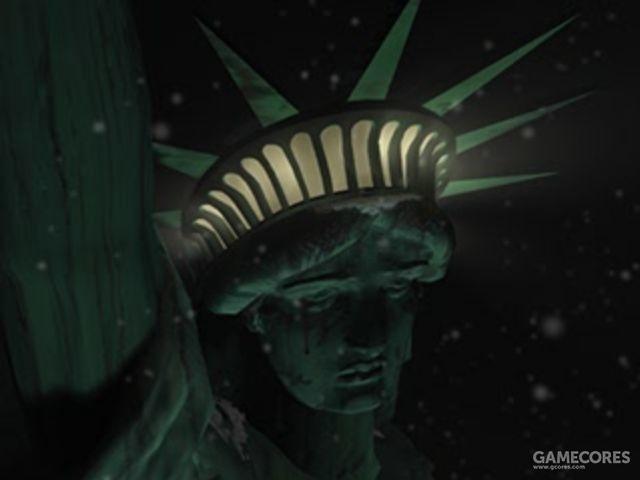 《寄生前夜》初代中的自由女神像