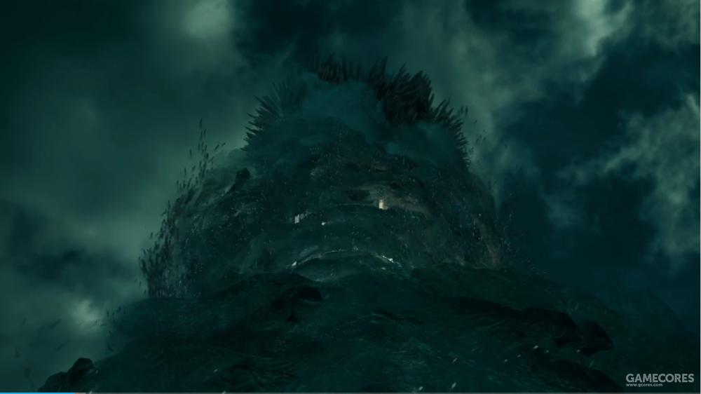钢铁巨兽被黑云包围,这压迫感没谁了