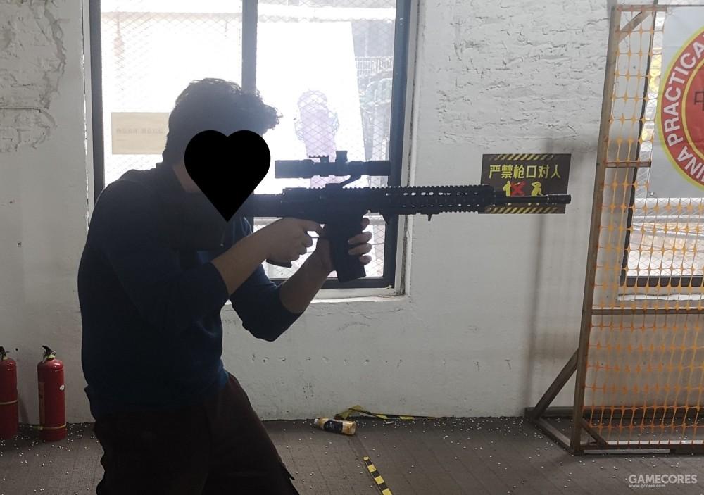 合法的射击体验场(笔者图)