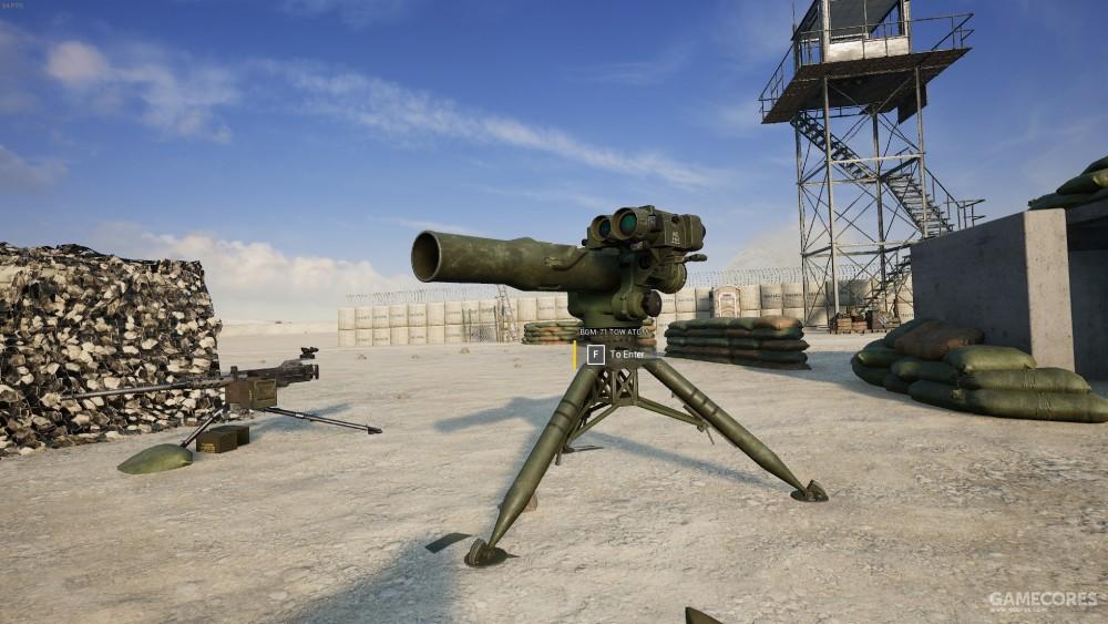 固定式反坦克发射器