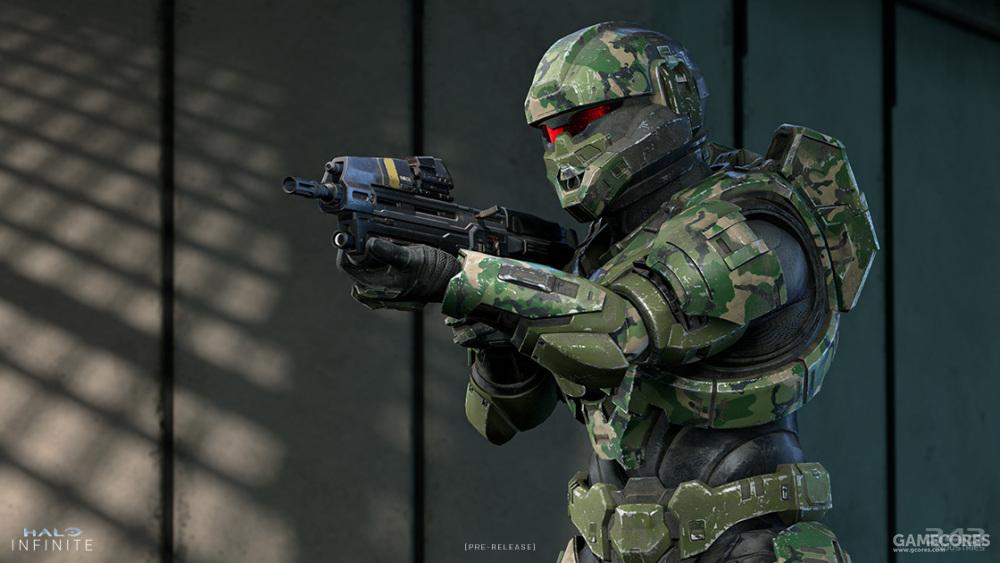 《光环:无限》版士兵(SOLDIER)装甲,整体质感同样提升,新内衬也减弱了引人注目感。