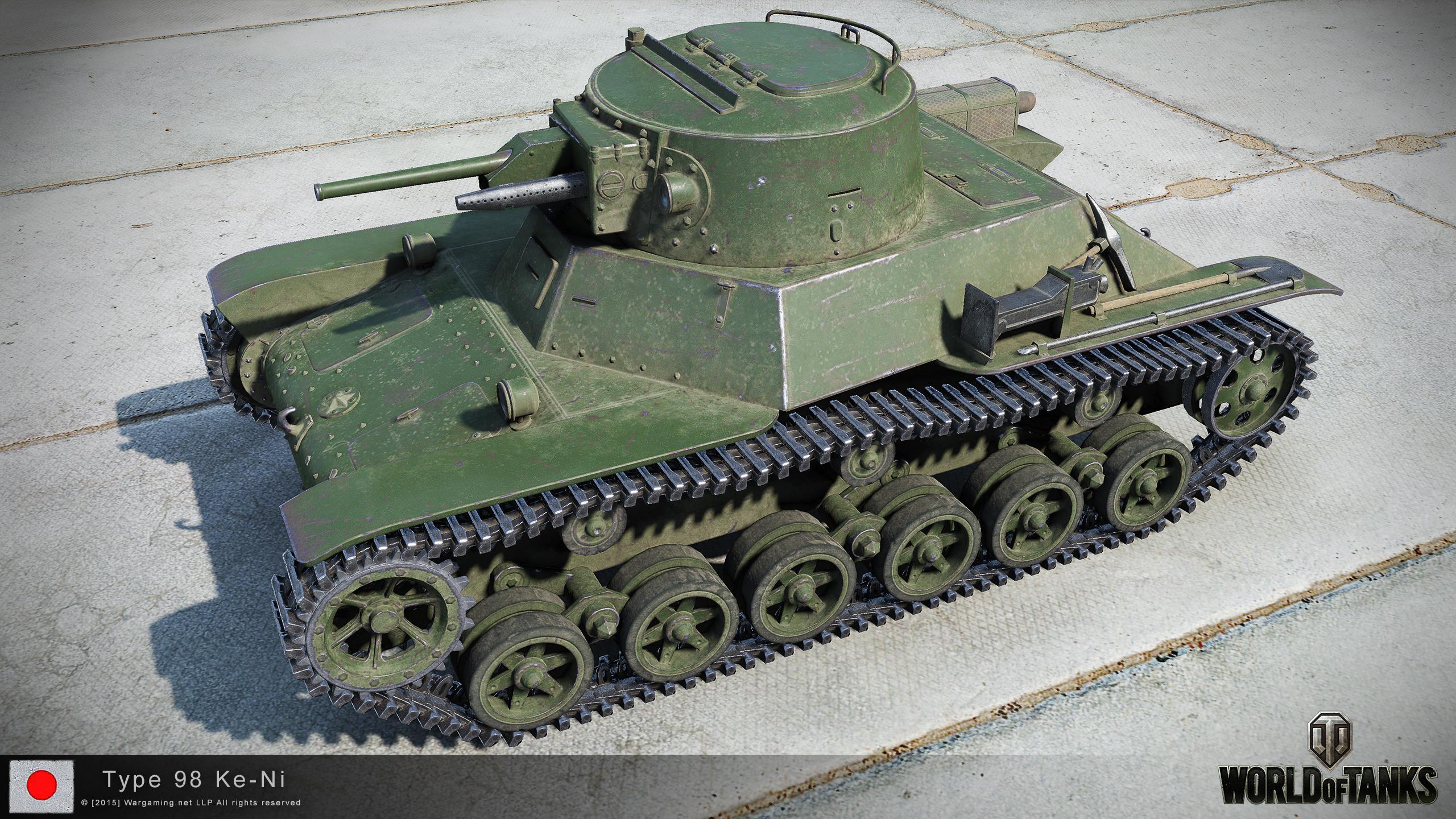 聊聊《戰爭雷霆》裡的98式Ke-Ni輕型坦克系列