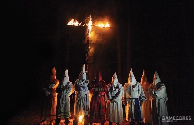 火刑架集会可以说是3K党最具代表性的行动。