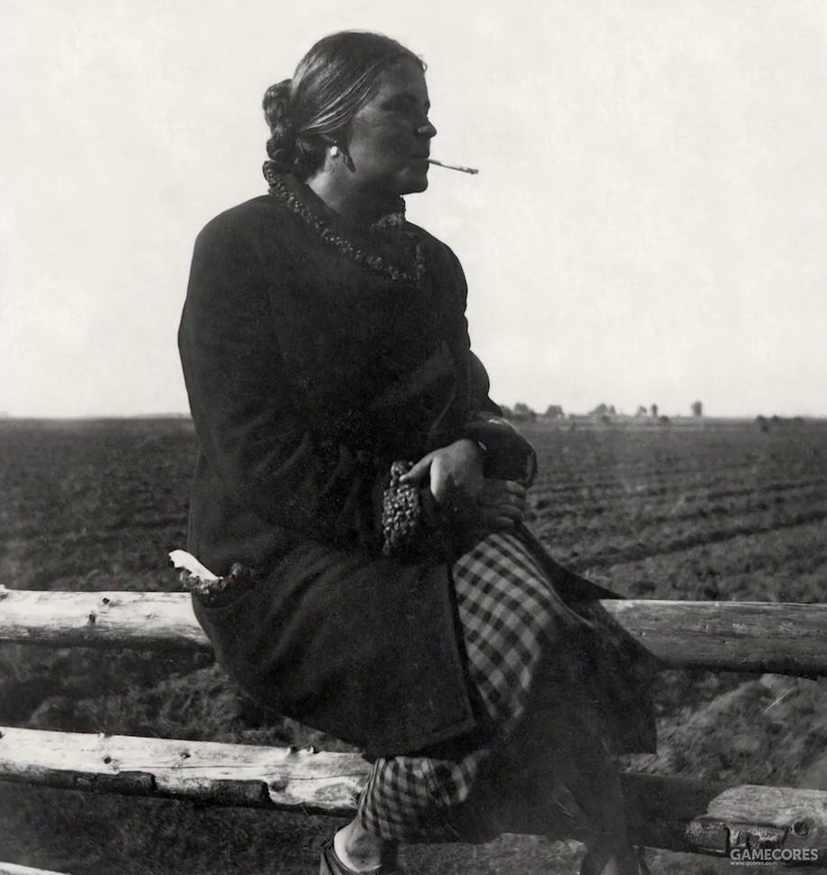 塔可夫斯基的母亲,《镜子》中著名的画面完全就是其母亲平时生活的复写