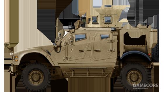 防护严密的M-ATV