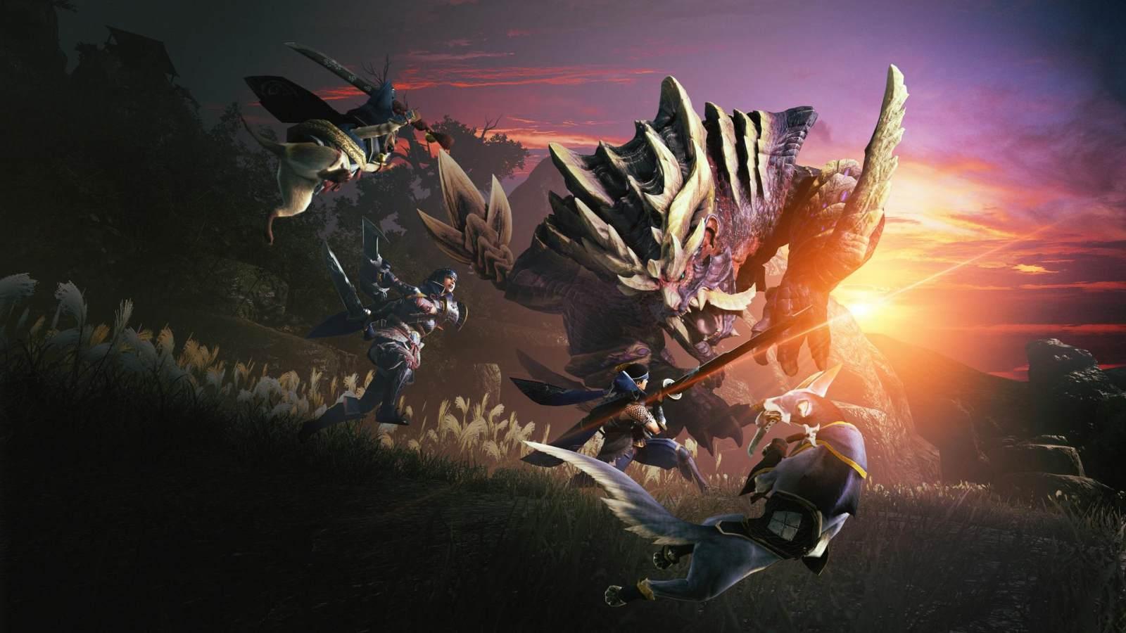 新怪物登场,老怪物回归,《怪物猎人 崛起》1月放出试玩版