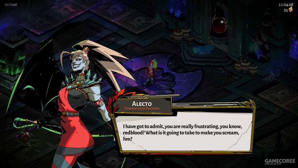 复仇女神阿勒克图。很狂暴,很凶