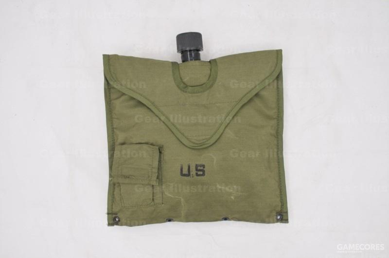 越战时期的两夸脱水袋