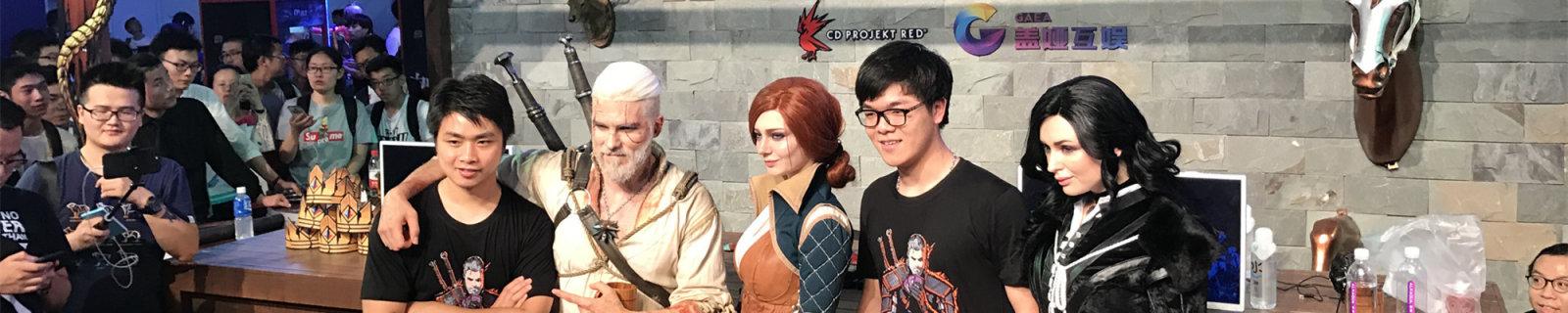 Chinajoy上的几位猎魔人coser