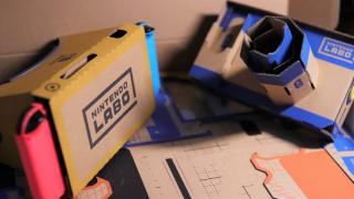 入手任天堂的「纸箱 VR」一周后,我想谈谈体验如何:Nintendo Labo VR Kit