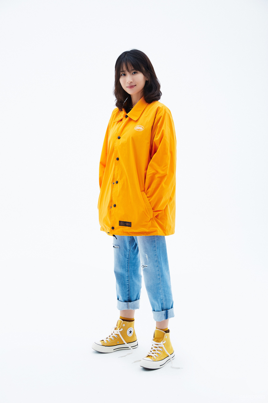Ami(西蒙发小):158 cm/43 kg 身着 L 码