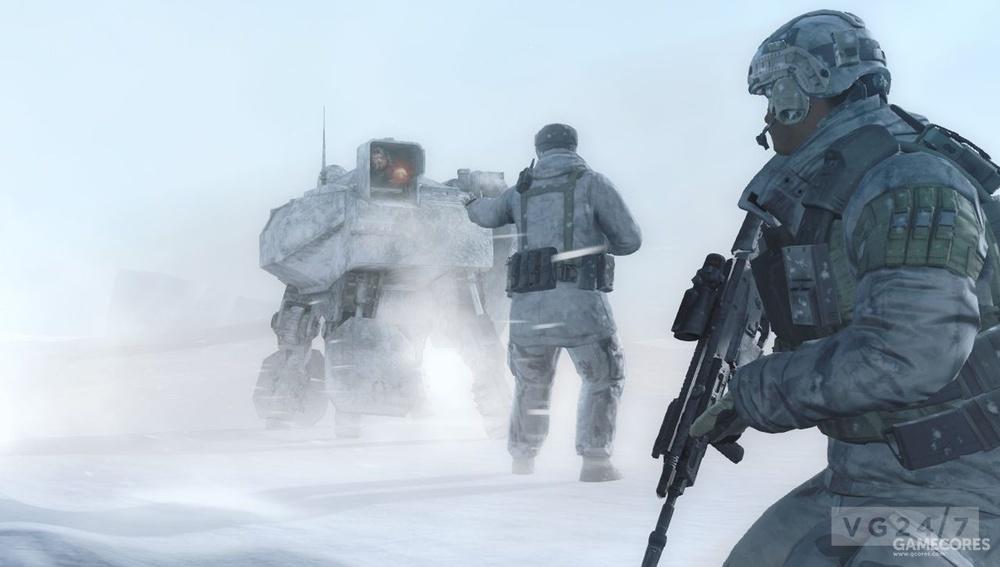 未来战士中的,无人移动武器站