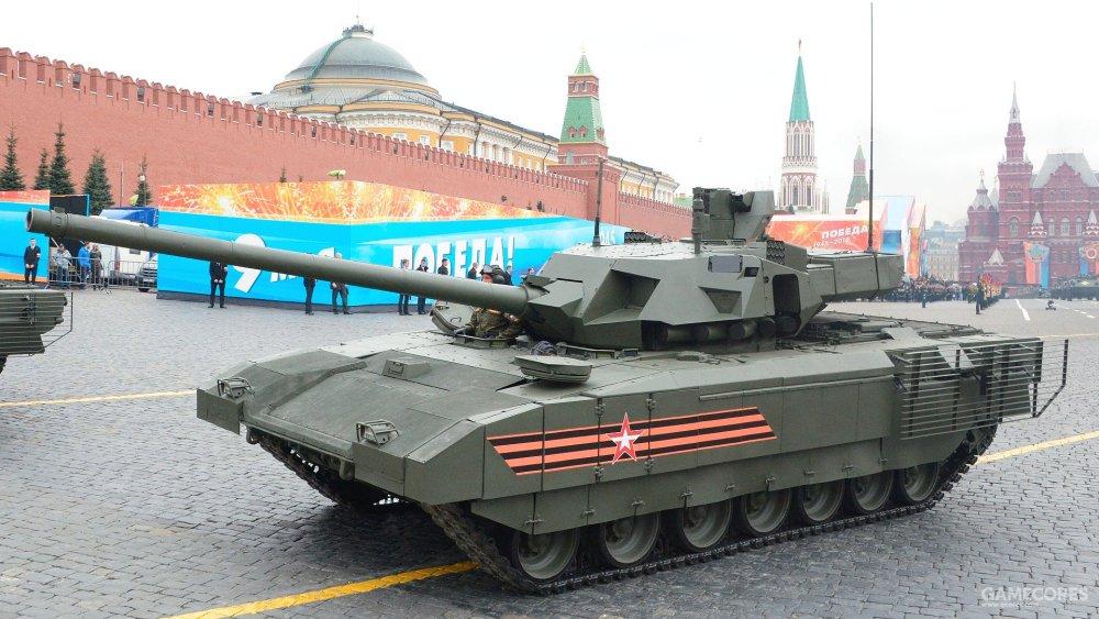 现实中的T-14,这车能装备多少依然是未知数