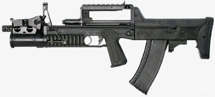 ADS水下步枪