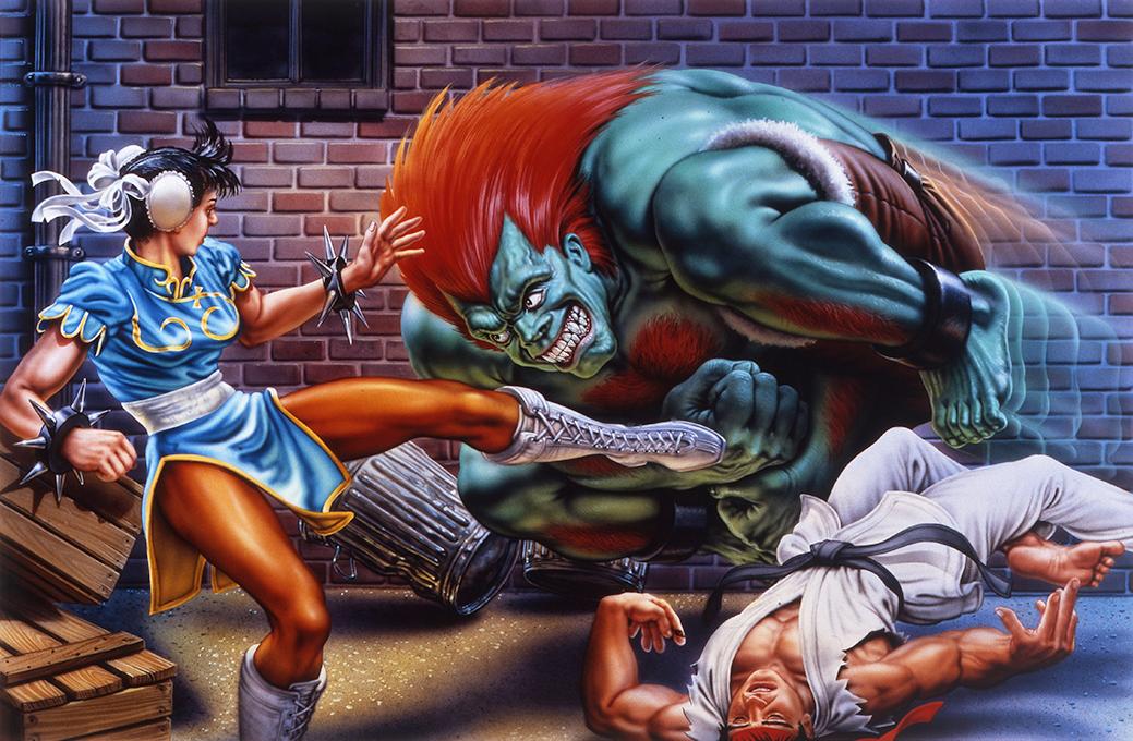 《街霸2》封面画师因病去世丨格斗游戏资讯一周回顾