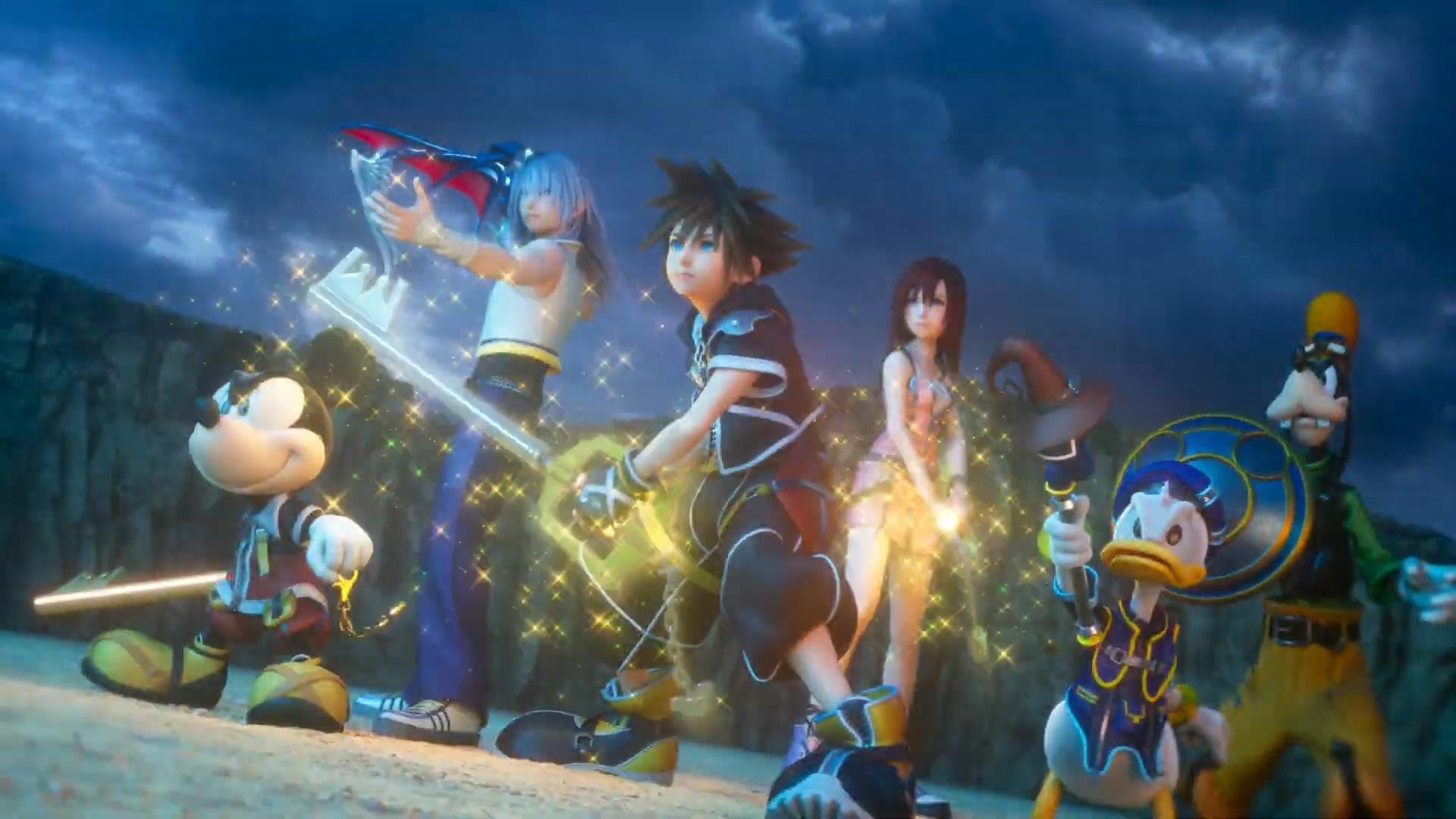 《王國之心3》公佈主題曲與開場動畫