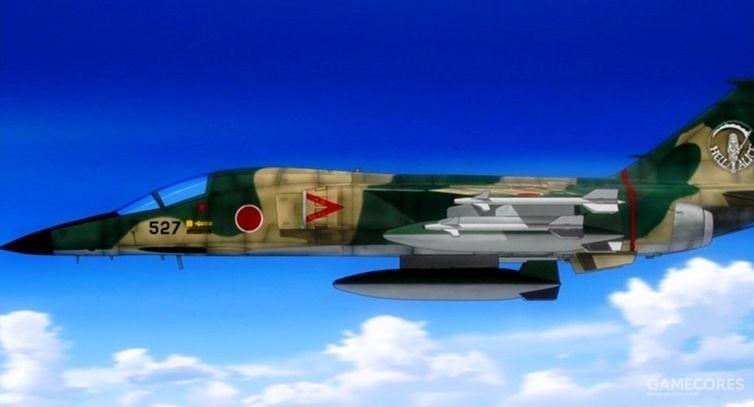 能吊打F-22的三菱F-1战斗机(第三少女飞行队所属)