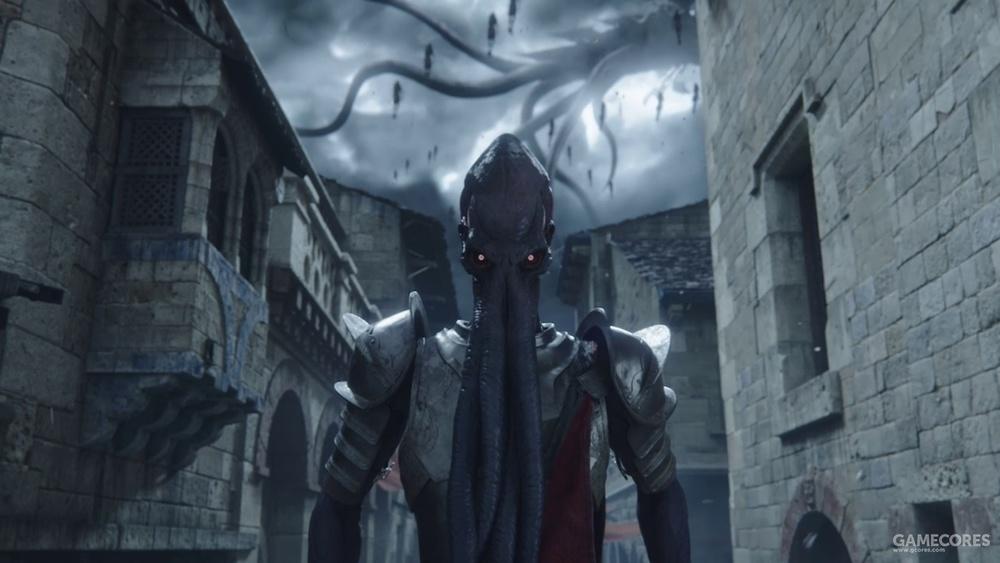 当夺心魔的鹦鹉螺形魔法船Nautiloid出现在西费伦的上空时,你不需要精通D&D规则也会知道大事不好了。
