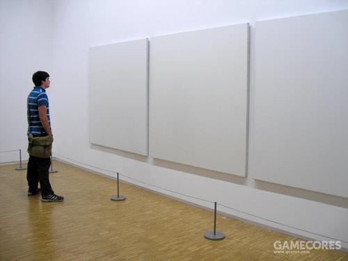 直到这里,似乎是走过头了。照片取自Call me Katie,作品应该是Robert Rauschenberg 在旧金山现代博物馆的展品
