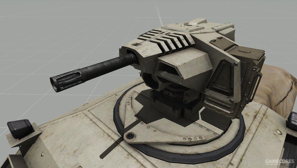 """""""猎人""""可使用40mm榴弹发射器"""