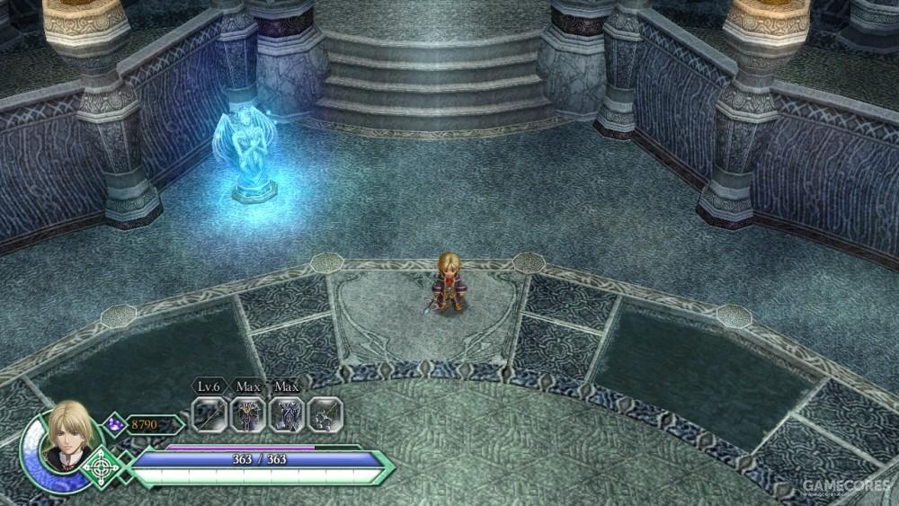 底层,苍哭领域的美术风格没有什么明显的特征和其他元素,引导玩家熟悉游戏。