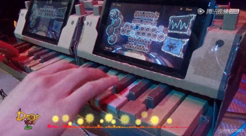 《即刻电音》中的选手曾用Switch Labo进行演奏
