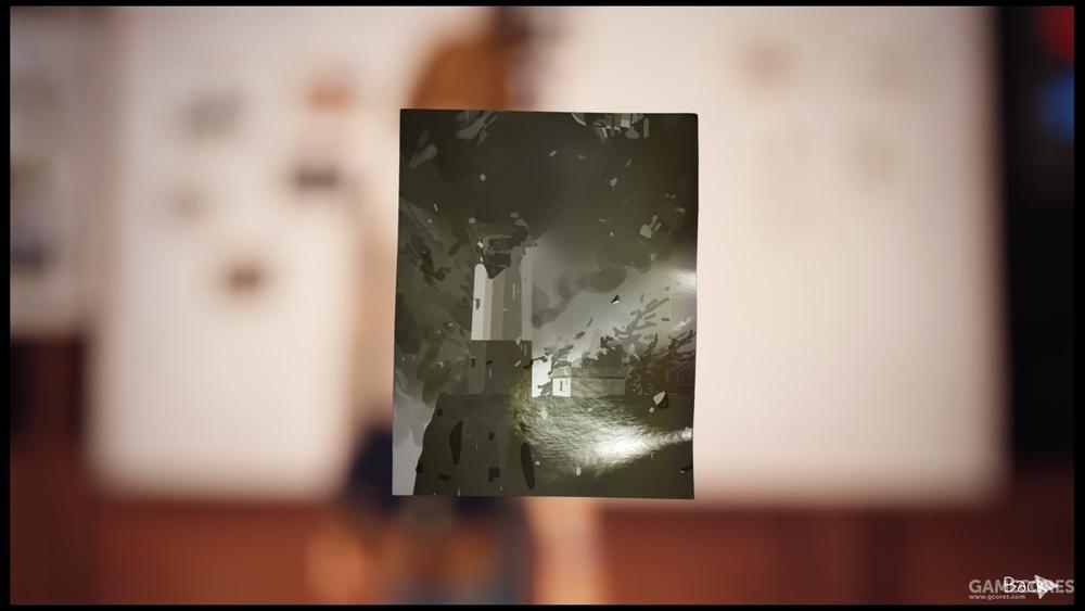 噩梦中的照片中灯塔轰然倒下,就如最初的梦境