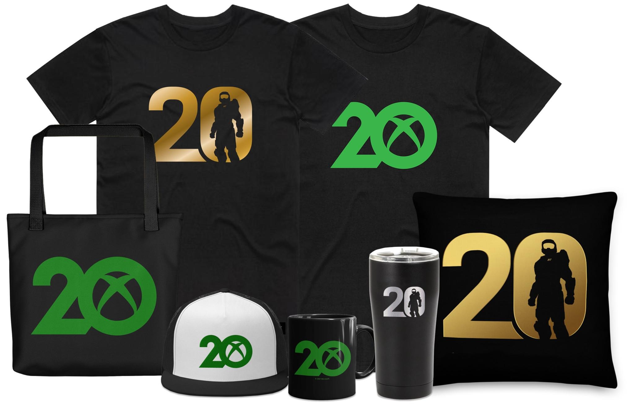 XBOX 20周年纪念商品