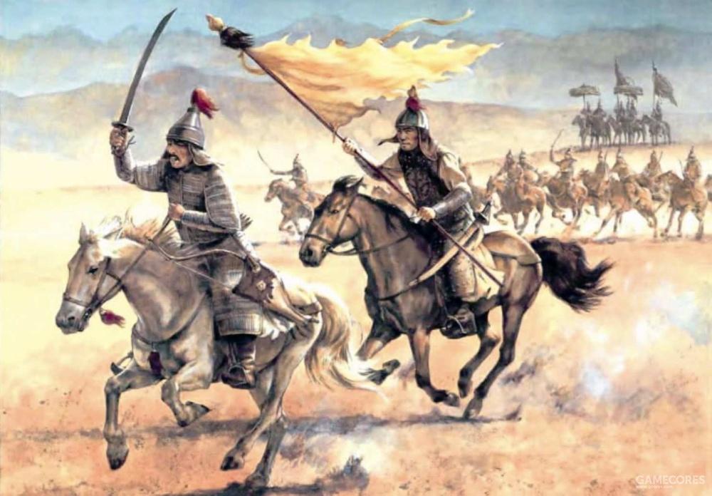 早期清朝骑兵,仍然配有弓箭。到了清朝中期,火枪的使用量增大了许多