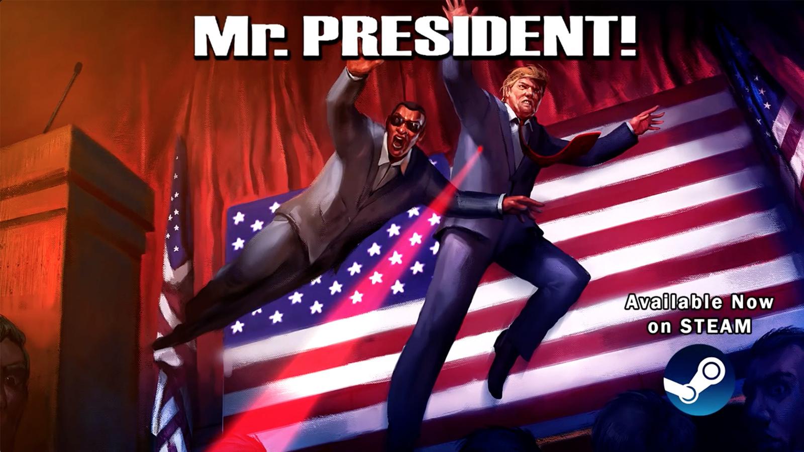 請用生命來保護這位多災多難的總統!