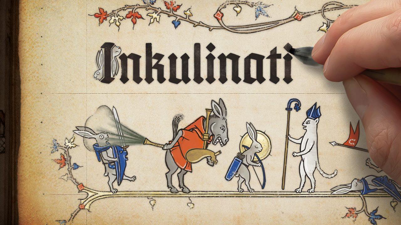 中世纪插画风回合策略游戏:《Inkulinati》现已开启众筹