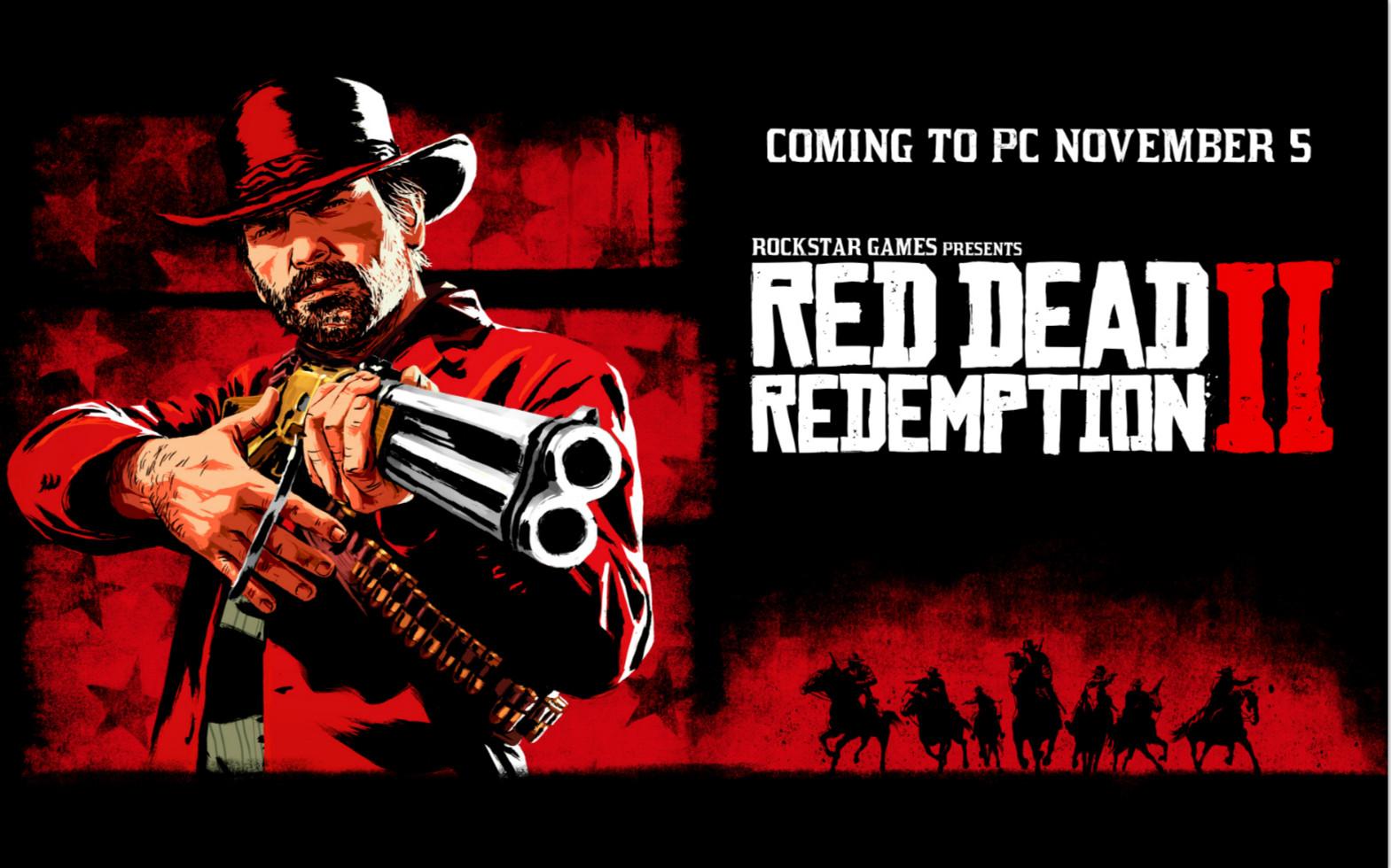 千呼万唤始出来!《荒野大镖客:救赎2》将于今年11月5日登陆PC平台