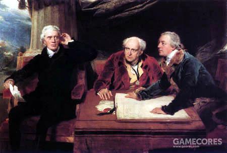 在当时,所有国际交易都以黄金或黄金证书结算。下文提到的和皮博迪合作的巴林集团,就在1803年以提供融资的方式协助美国政府从拿破仑手中购得了路易斯安那。这笔交易中,拿破仑获得了883万1250美元的现金。图中是法国巴林家族的创始人法兰西斯·巴林