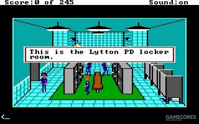 Police Quest 1 游戏画面