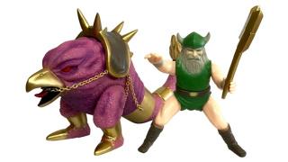 世嘉授权推出《战斧》、《太空哈利》、《兽王记》的日式软胶玩具