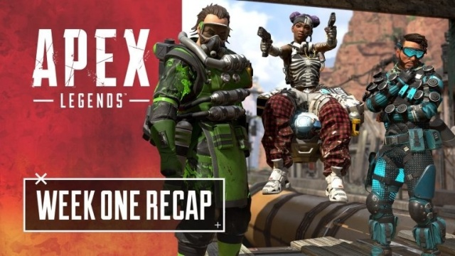 《Apex 英雄》上线首周共计2500万玩家,本周开启情人节限时活动