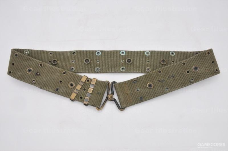 稀有的竖纹版M-1961腰带