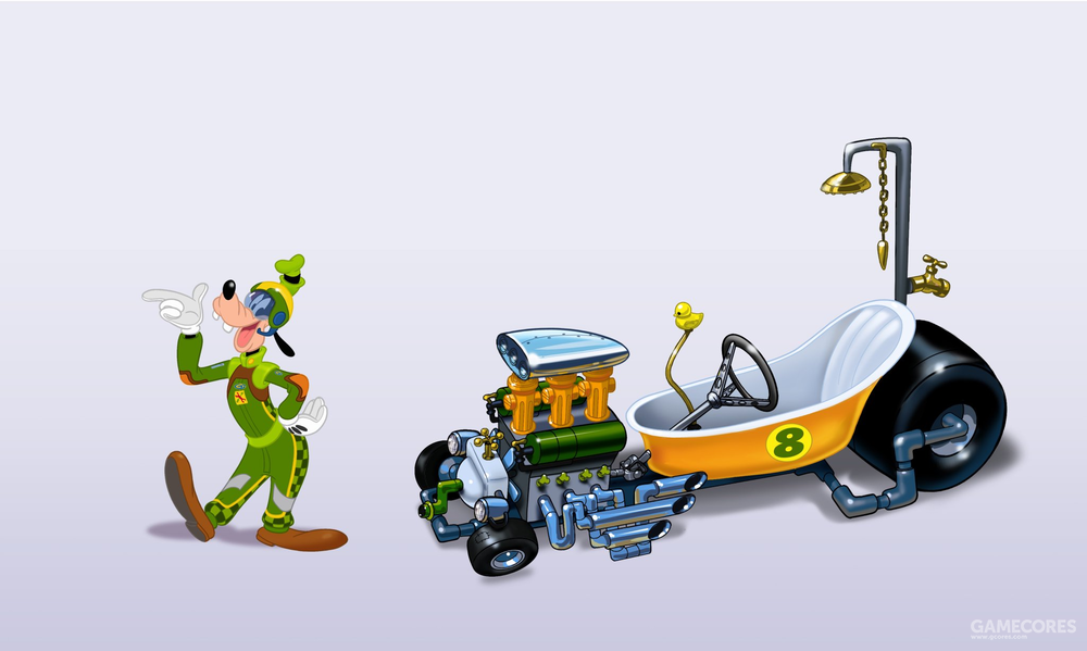 高飞的浴缸车,还是涡轮增压发动机
