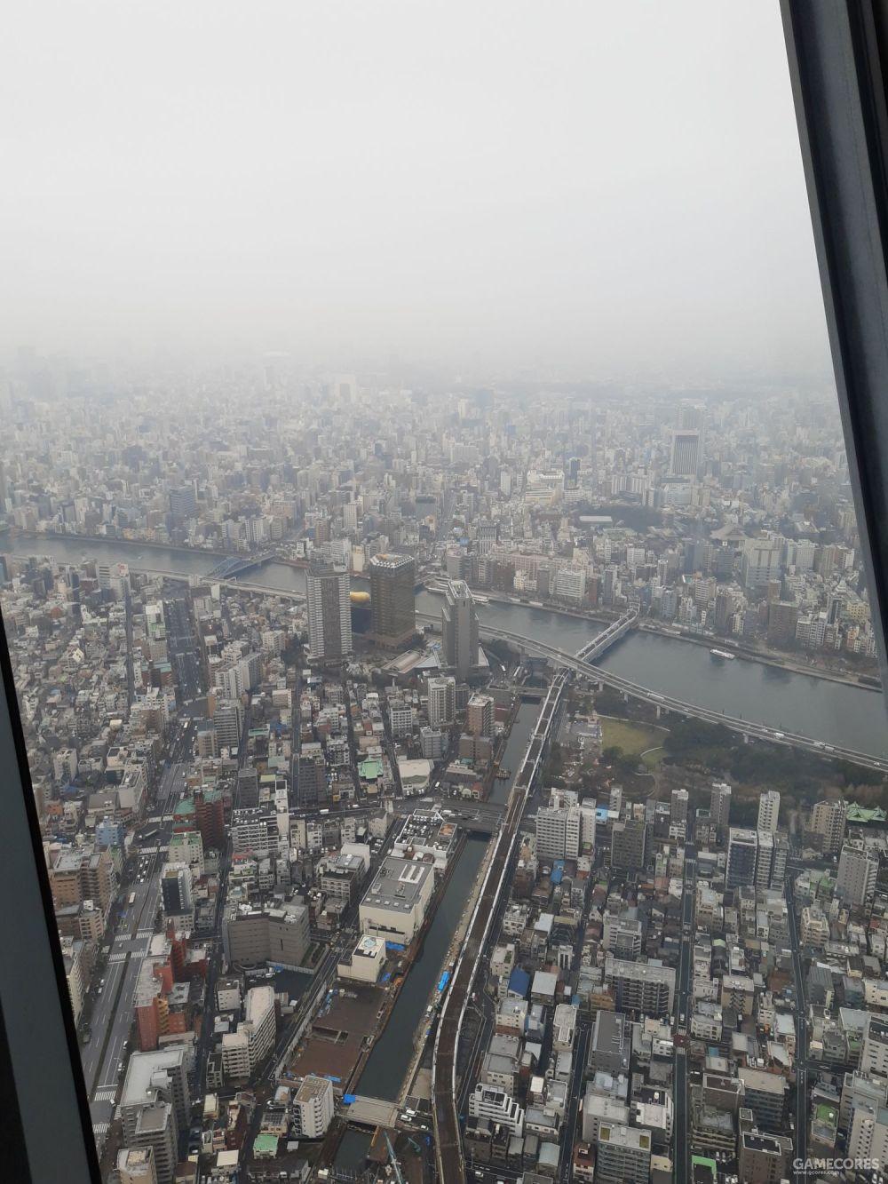 朦胧的东京