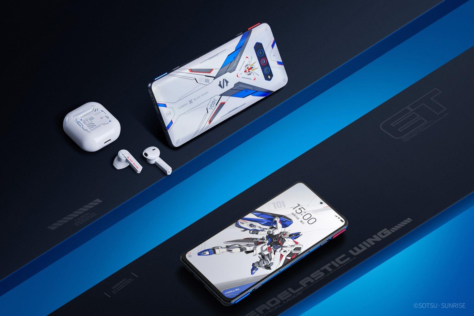 黑鲨4S系列正式发布:全系2699元起并推出自由高达联名套装