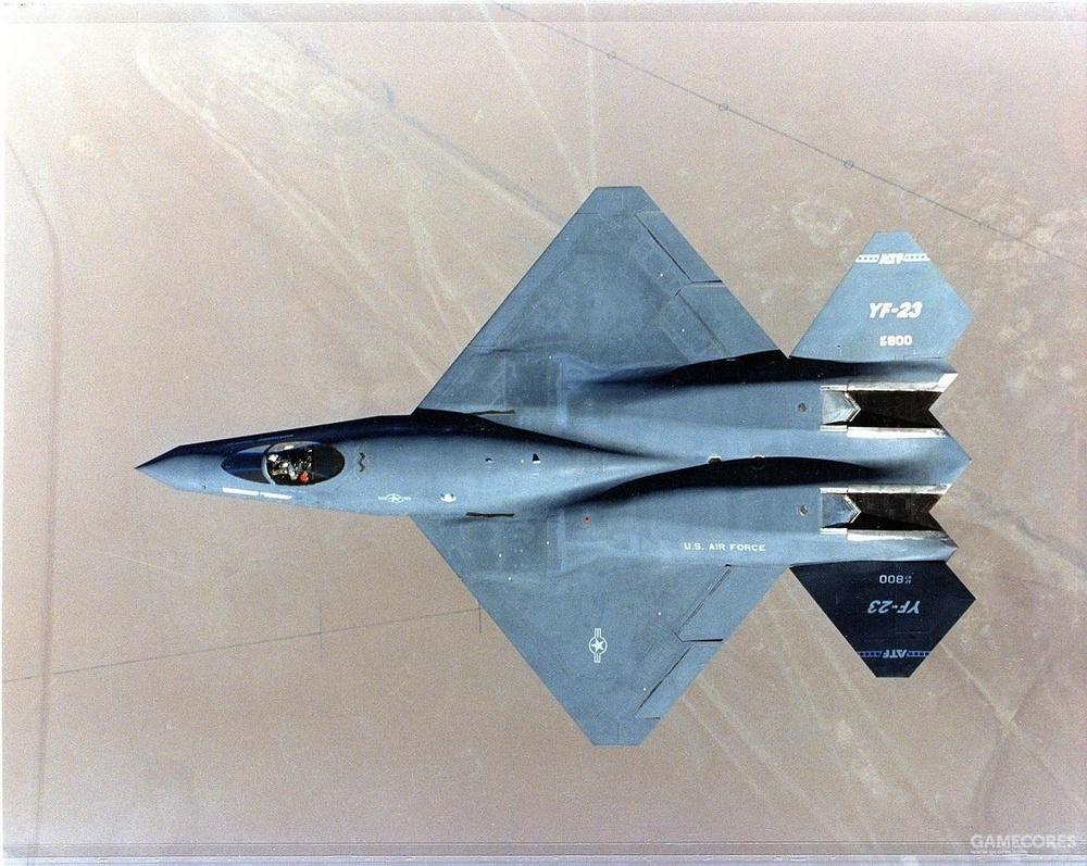 """YF-23 很多人心中""""真正的四代机"""""""