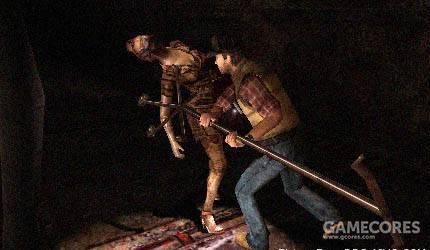 起源的整体素质在PSP上堪称恐怖游戏典范