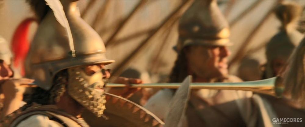 马其顿步兵的salpinx长号